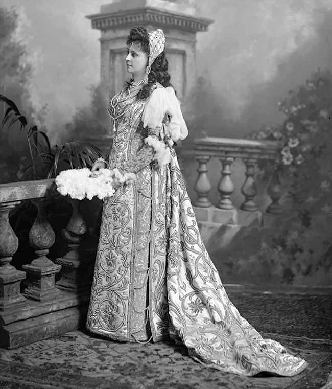 Baroness von andr at the devonshire house ball 1897 by for The devonshire house