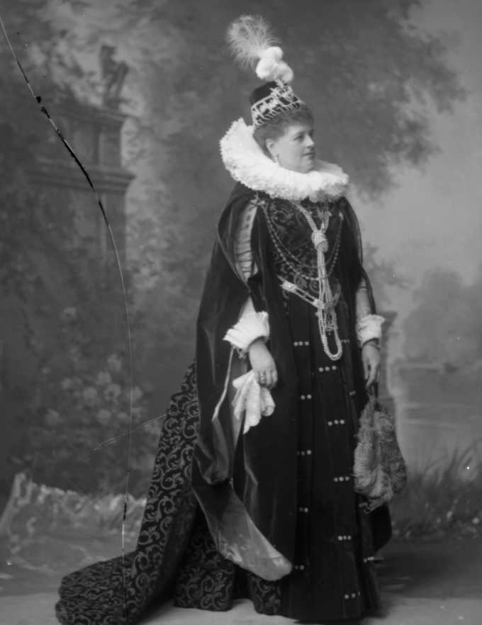 All images strictly copyright. Charlotte (Francis Frederica) Countess Spencer, née Seymour (1835-1903) by Lafayette 1897