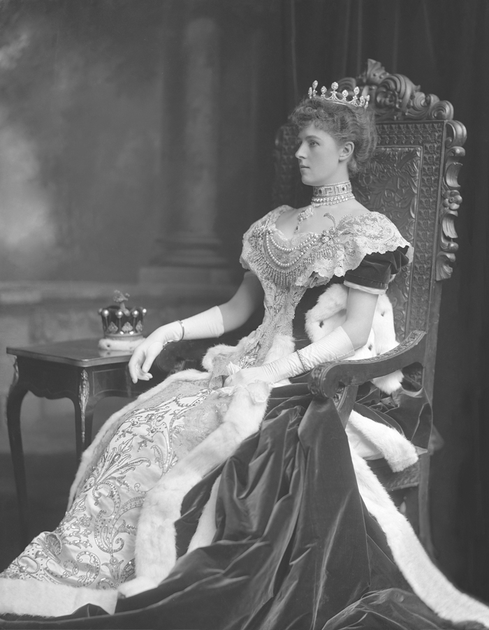 Violet Ida Evelyn, Countess of Powis & [in own right] 16th Baroness Darcy de Knayth (1865-1929).