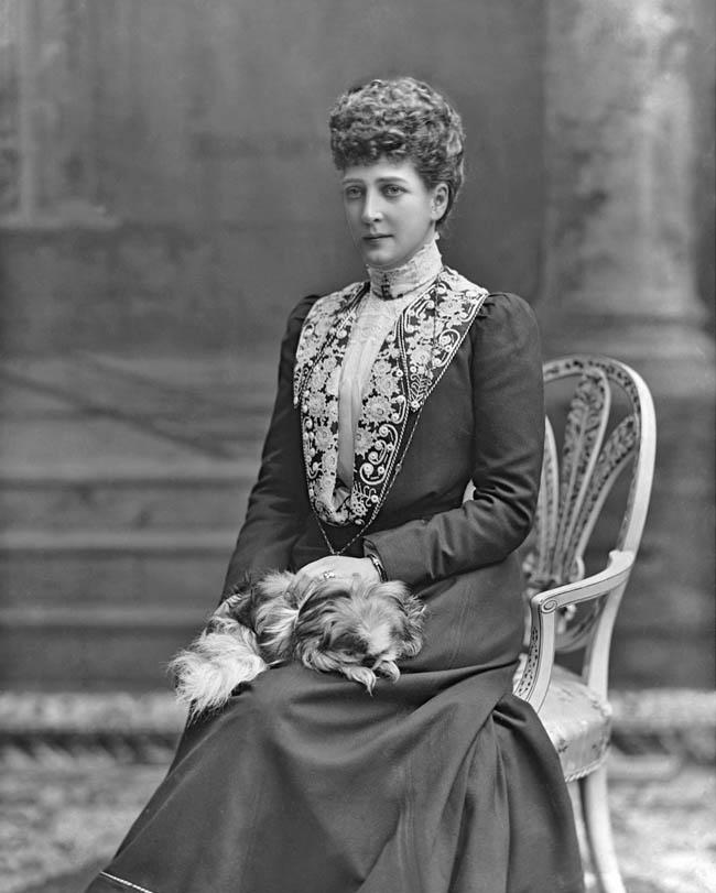 Queen Alexandra 1844 1925 By Lafayette 1902