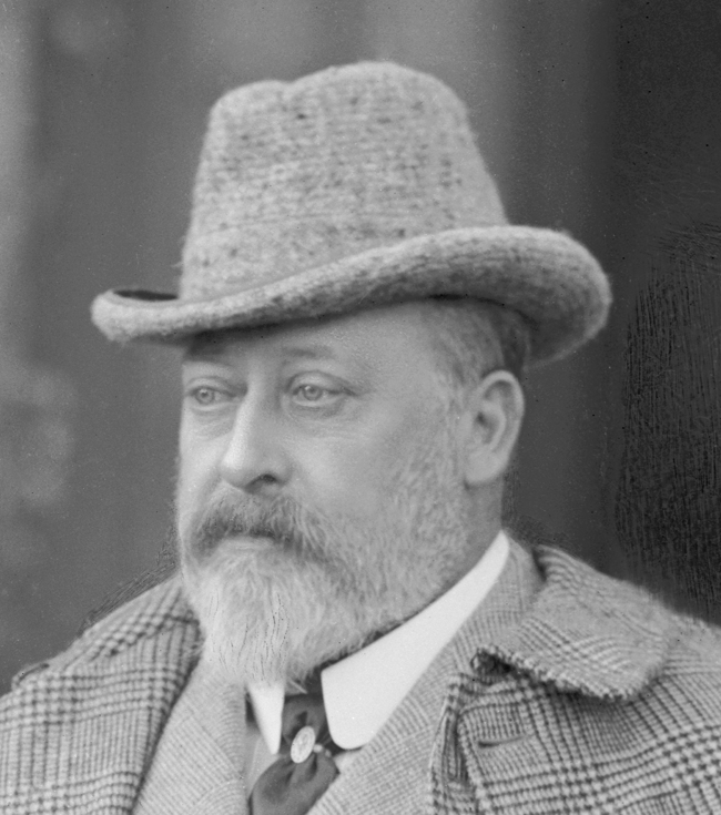 King edward vii 1841 1910 at sandringham by lafayette 1902