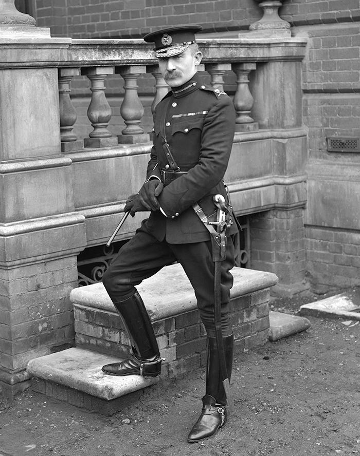 Major General Later Lieutenant General Robert Stephenson