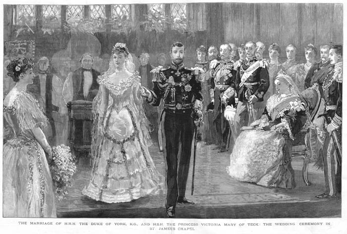 The Graphic, Royal Wedding Number, 10 July 1893